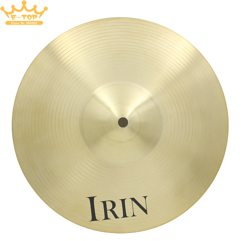 IRIN 20 Brass Alloy Crash Ride Hi-Hat Cymbal for Drum Set