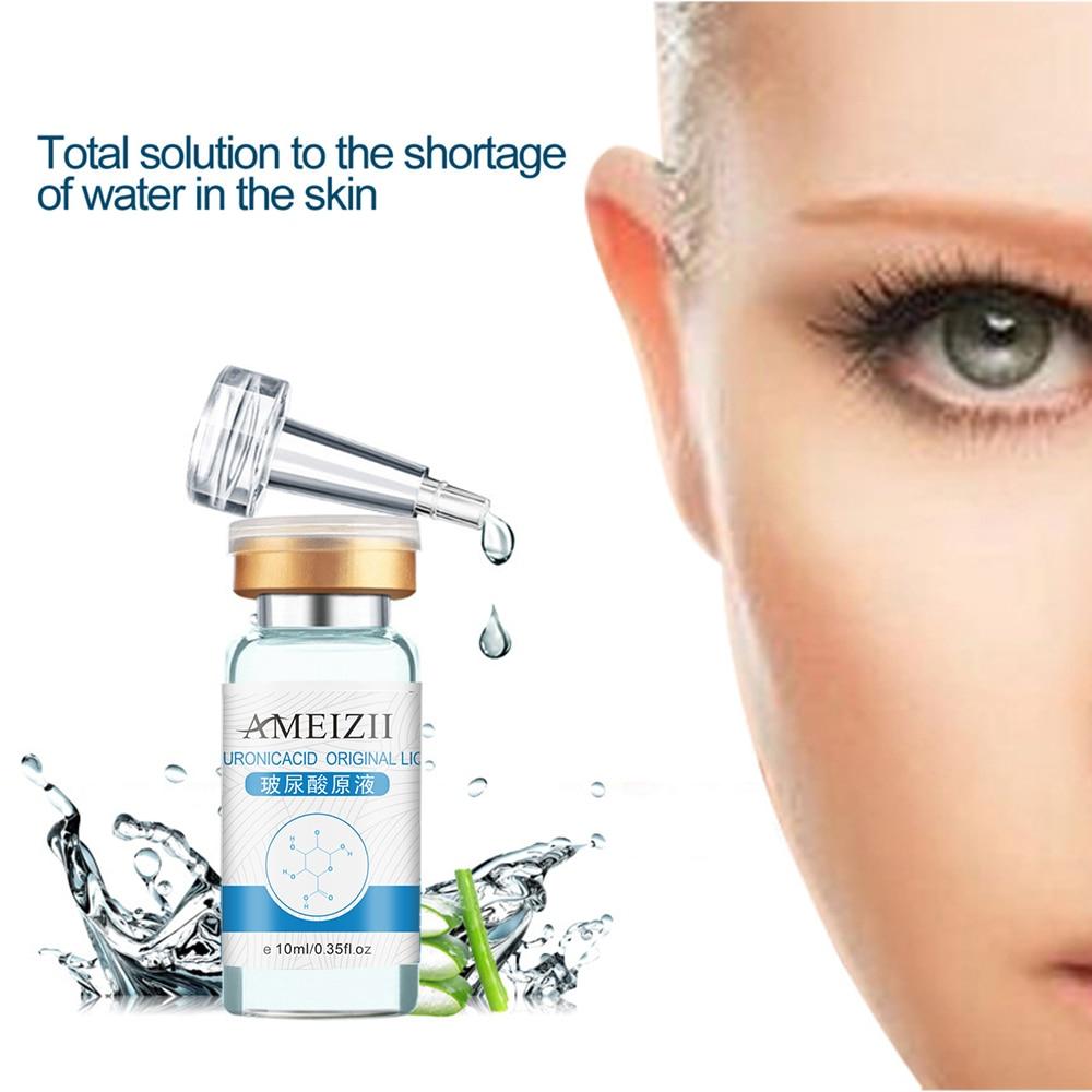 Wholesale 10ml Hyaluronic Acid Anti-wrinkle Moisturizing Face Serum Whitening Acid Anti-aging Lift Cream Skin Care TSLM1