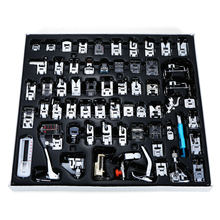 62pcs Professional Domestic Sewing Machine Presser Foot Feet Kit Accessories for Brother Singer Janome Butterfly Sewing Machines [available from 10 11] sewing machine brother ml 750
