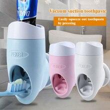 Dispensador de pasta dental al vacío para el hogar, soporte de pasta dental automático, Abs, soporte de montaje en pared, manos libres