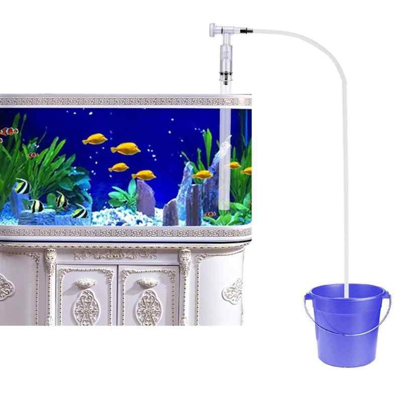 BESTOYARD аквариума гравия средство для чистки от песка сифонный насос заливочное устройство с потоком воды Настройщик