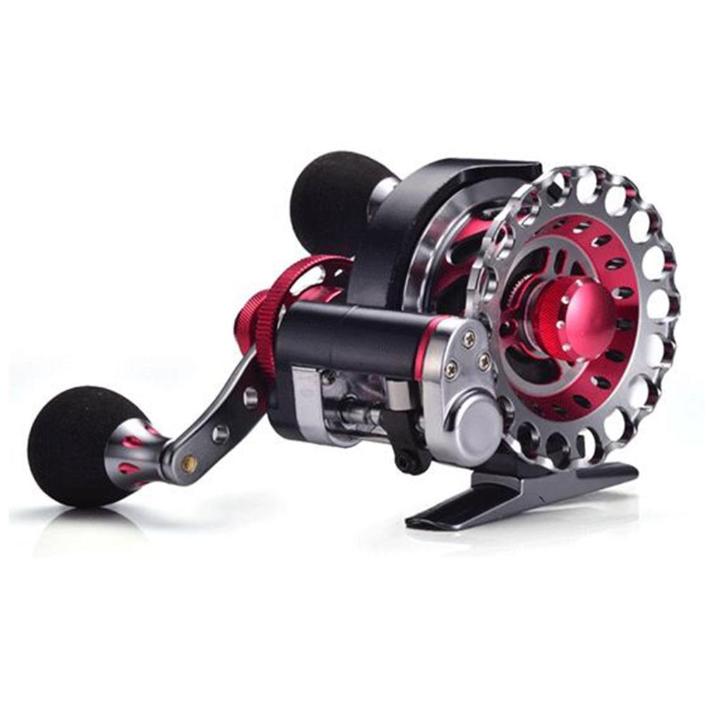 LumiParty Fly Fishing Reel Automatic Wire Spread 10+1 BB Aluminum Alloy Left/Right Hand Ice Fishing Raft Reel peche a la carpe