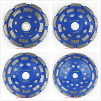 Diamond Double Row Cup Wheel For Granite Hard Material We Have 4 Sizes Available 4 4