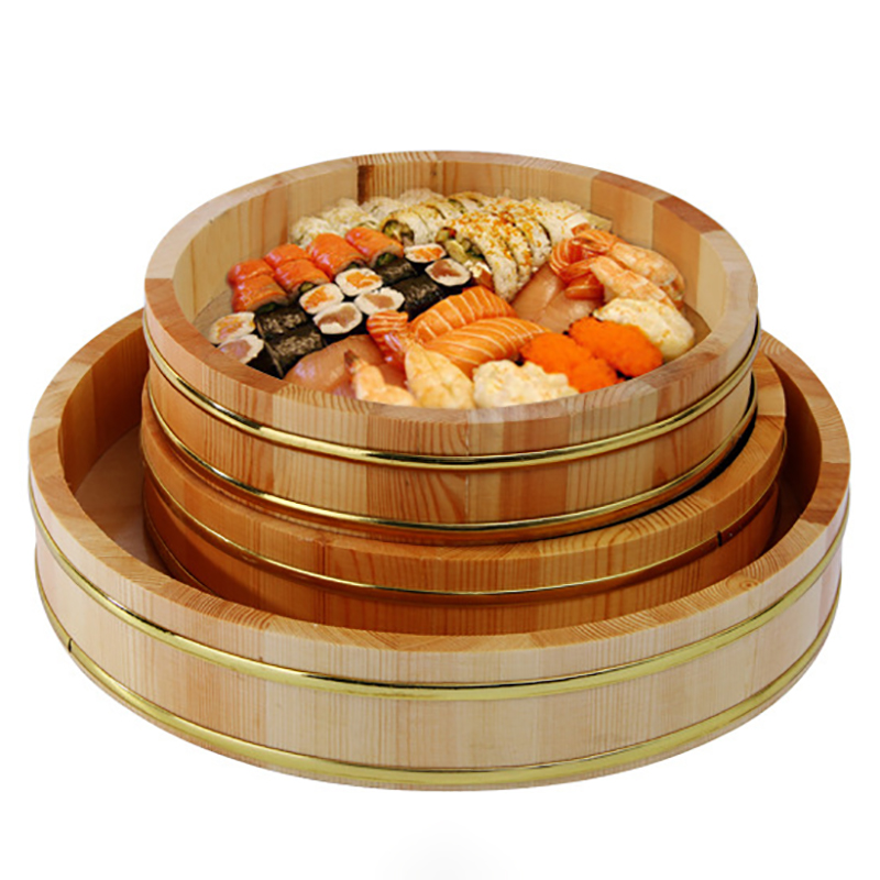 Dinner Plate Wooden Tray Sushi Dish Containers Multi use Plate Main Dishes Christmas Plate Dinnerware Large Ware Assiette 1PCS|Dinnerware Sets| |  - title=