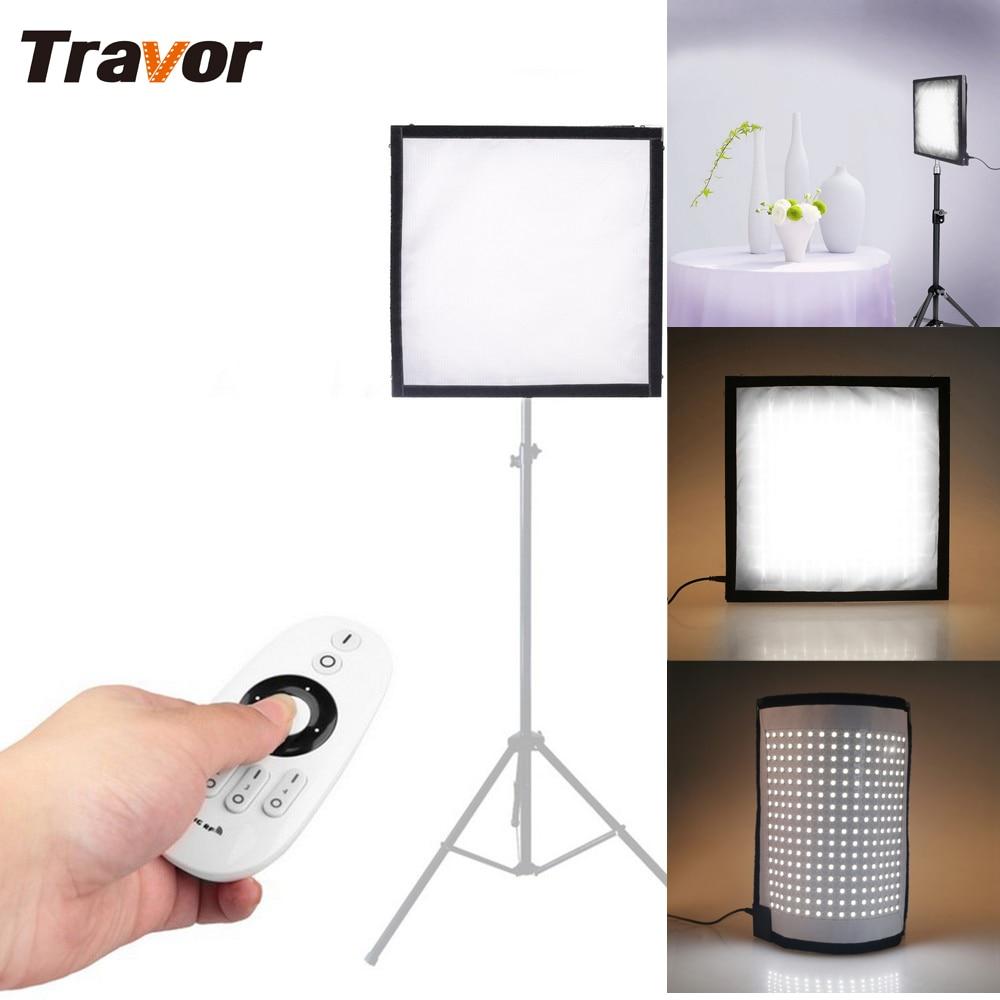Travor FL-3030 גמיש LED וידאו אור 256pcs LEDs CRI95 5500K - מצלמה ותצלום