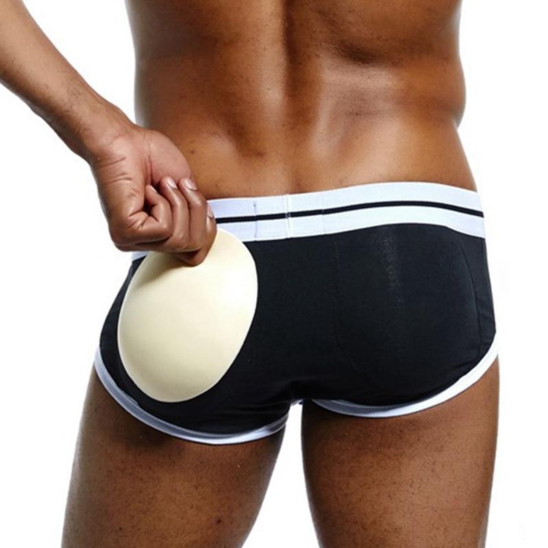 Mens Padded Underwear Men Pad Hip Up Briefs Men Cotton Underwear Male Butt Lift Enhancing Briefs Male Padded Hip Underwear