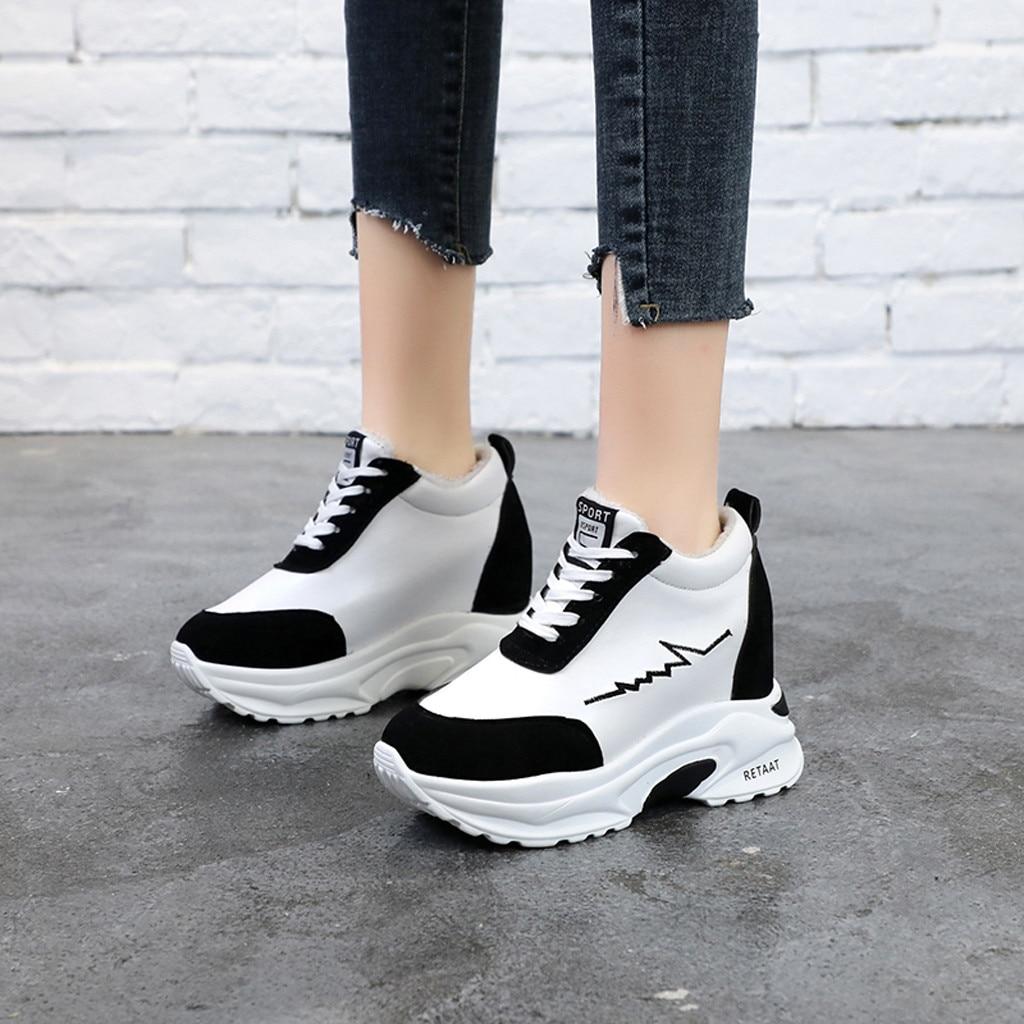 1d9e58046 Dedo Nueva Deporte Ocio Encaje Descuentos Mujer Zapatos rojo Redondo Del  Llegada De Pie Promocionales Fondo Antideslizantes Negro Grueso Casuales  wRgxCqO