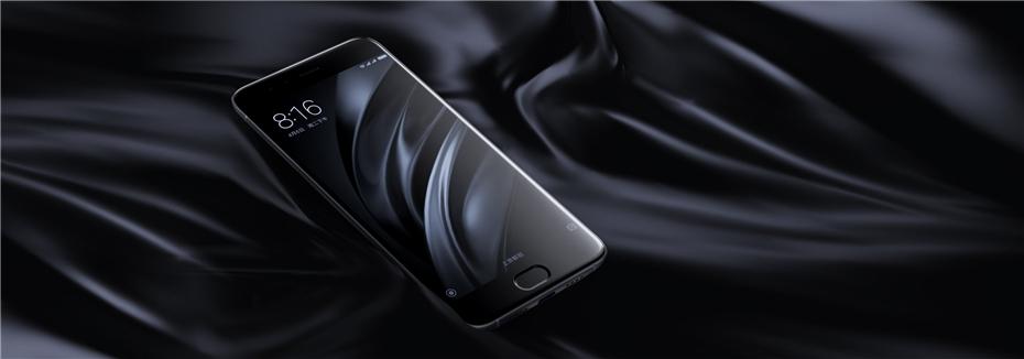 New Original Xiaomi Mi6 Mi 6 Snapdragon 835 Smartphone 6GB RAM 64GB ROM Adreno540 Fingerprint ID FDD 12MP 5.15 1080P MIUI 8 NFC