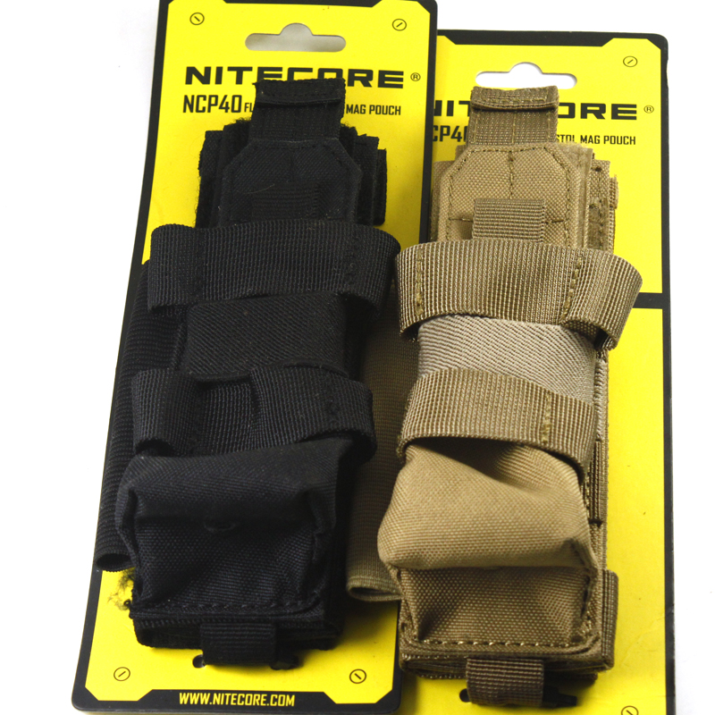NITECORE NCP40 Tactical Holster Flashlight Holder Case Pouch 1000D Nylon Professional Outdoor Hunting Equipment 2 COLORS