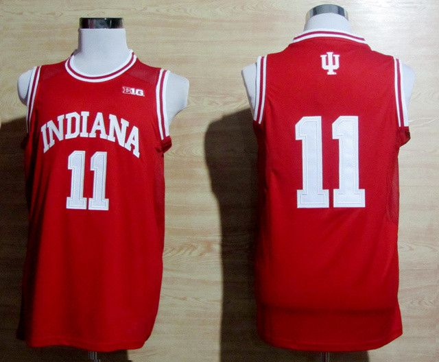 separation shoes ab495 b45ba US $19.49 35% OFF|Indiana Hoosiers 11 Isiah Thomas 40 Cody Zelle 4 Victor  Oladipo Top quality Stitched Basketball Jersey Embroidery Size XXS XXL-in  ...