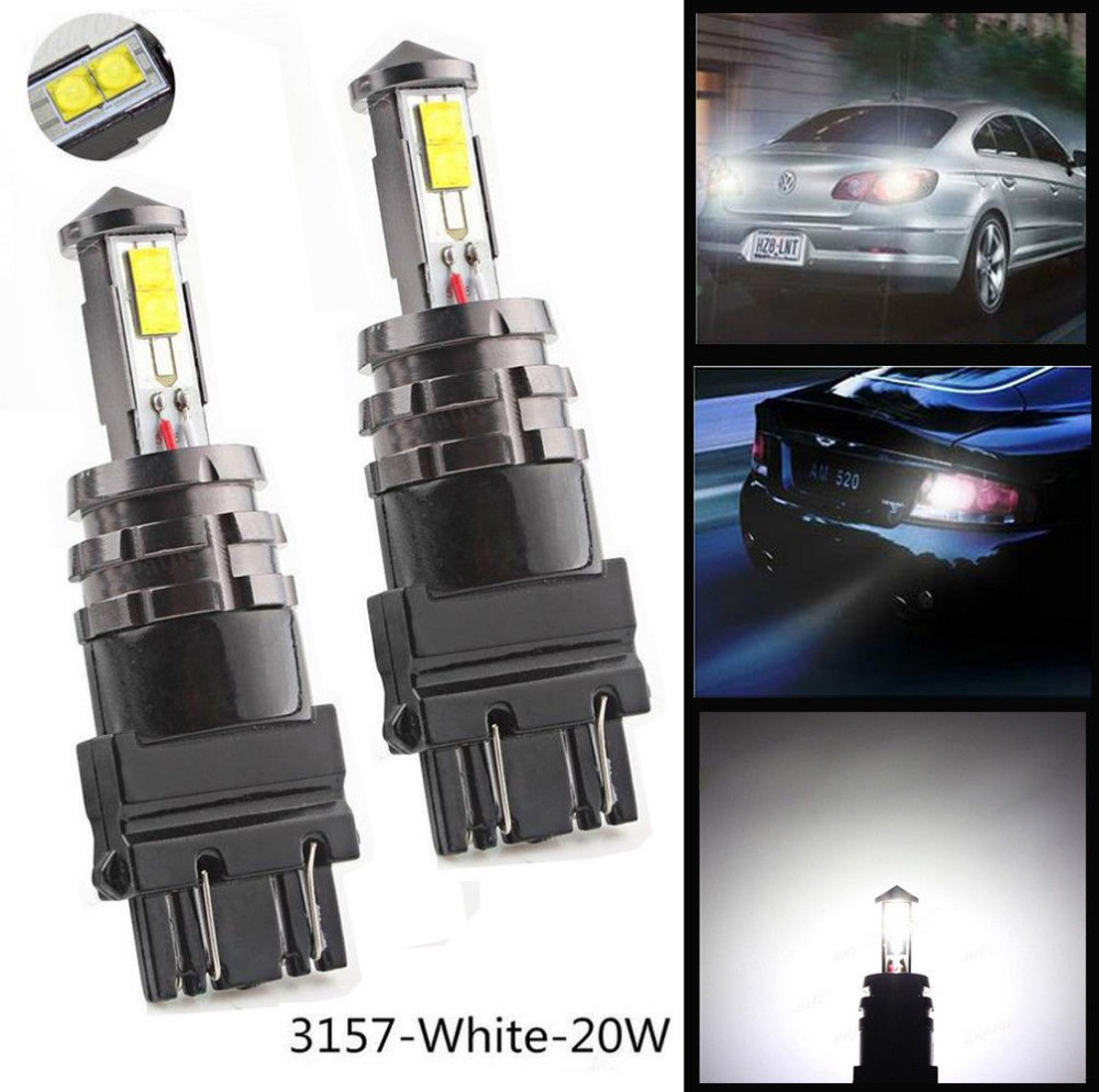 2X3156 3157 20 Watt XTE 720LM Auto Rückunterstützungs Brems Side Maker Strosse...