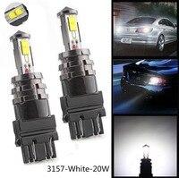 2X3156 3157 LM 20 W XTE Samochodów Rewers Backup Hamulca Boczne Ekspres Stope Led Lights