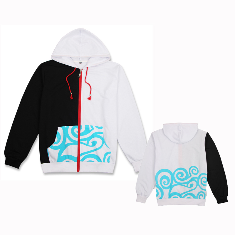 Adult Cotton Anime Gintama Sakata Gintoki Hooded Hoodies Fleece Costumes Cosplay For Woman Man