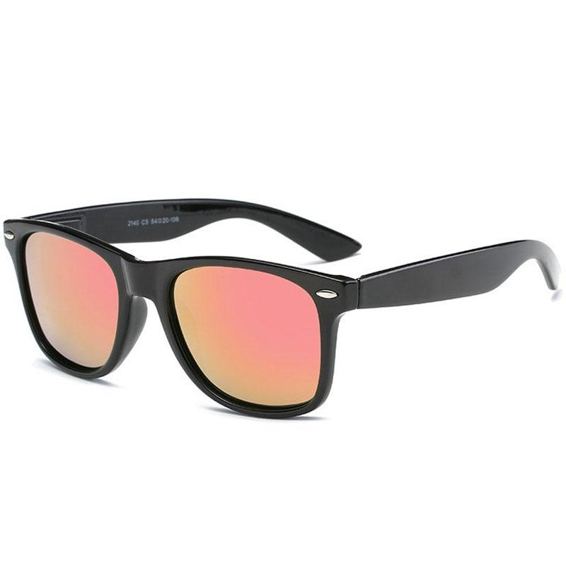 AMII Fashion Unisex Square Vintage Polarized Sunglasses mens Polaroid Women Rivets Metal Design Retro Sun glasses gafas oculos 4