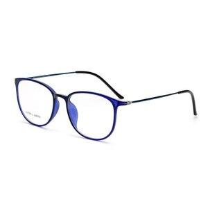 Image 4 - Colorful Fashion Glasses Slim Frame Eyeglasses Frame Optical Glasses Spectacles 2212 Prescription Eyewear with 8 Optional Colors