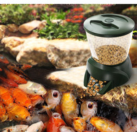 Large Scale Automatic Timing Fish Feeder In Fish Pond Large Aquarium For Feeding Aquatic Quantitative Feeder For KOI Pond