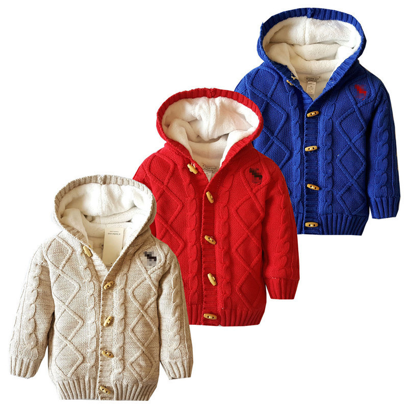 Baby Winter Coat Thick Climbing Clothes Newborn Boys Girls Snow Wear Warm Sweater Jacket winter Hooded Outwear