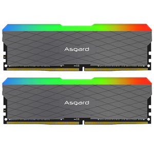 Image 3 - Asagrd לוקי w2 seires RGB 8GBx2 16gb 32gb 3200MHz DDR4 DIMM memoria ddr4 זיכרון שולחן עבודה אילים עבור מחשב כפול ערוץ
