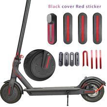 4 stuks Licht Gewicht U Vormige Stickers Voor Xiaomi M365 Scooter Voor Achter Wiel Beschermhoes Met Lineaire U  vormige Stickers