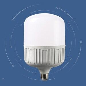 Image 2 - LED lamp E27 LED Bulb AC 220V 230V 240V 50W 40W 30W 20W 15W 10W 5W Lampada LED Spotlight Cold White Warm White lamp Lamps light