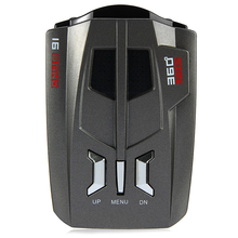Авто Анти радар детектор сигнала для автомобиля V9 голосовое предупреждение о скорости светодиодный дисплей детектор английская/Русская версия