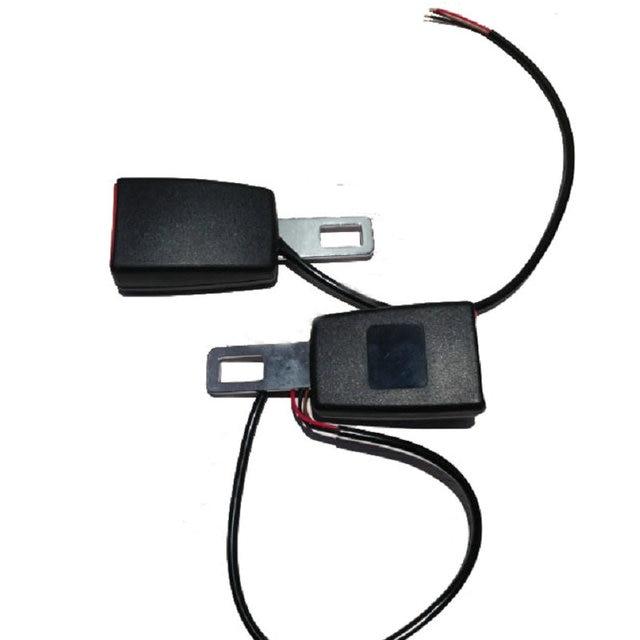 """7 """"/8"""" Camlock Черный Универсальный Авто Seat Belt Extender Пряжка С Кабель-Провод"""