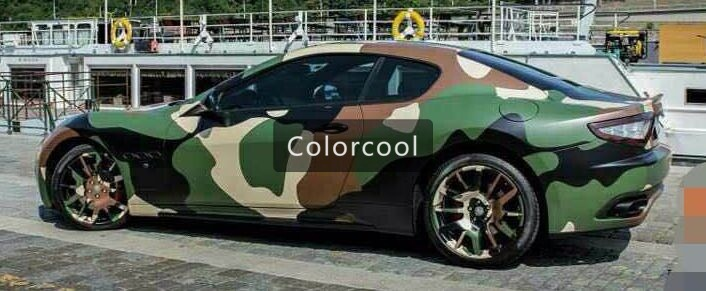 Camouflage Custom Car Sticker Bomb Camo Vinyl Wrap Car Wrap With - Camo custom vinyl decals for trucks