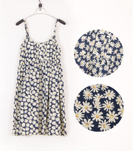 MEETMEFASHION New Fashion Summer Mori Girl Dress O Neck Sleeveless Print Floral Vestidos Women Sexy Beach Spaghetti Strap Dress