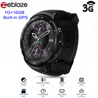 Zeblaze THOR PRO 3G Android Smartwatch Men MTK6580 Sports Watch 1GB 16GB GPS Touch Screen Bluetooth android wear Smart men watch