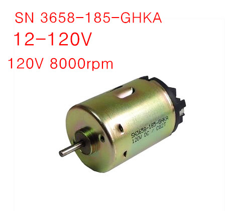 Sn3658 micro dc motor low speed motor 24v 120v wide for How to vary the speed of a dc motor