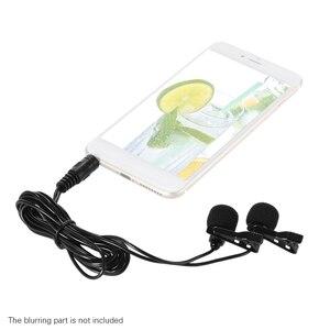 Image 3 - Dành Cho iPad iPhone Huawei Điện Thoại Thông Minh 150 Cm ĐTDĐ Điện Thoại Thông Minh Mini Dual Đầu Đa Hướng Mic Micro Có Cổ kẹp