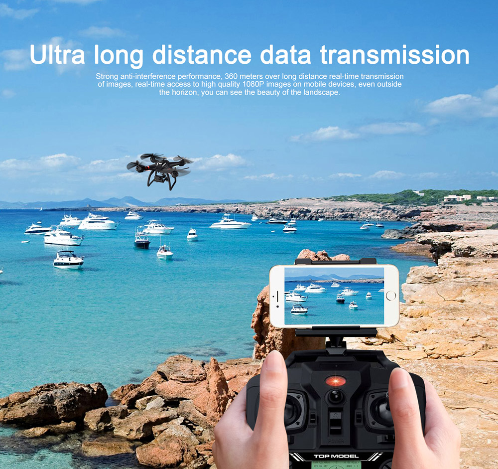 BAYANGTOYS X22 RC Quadcopter Drones Dual GPS WiFi FPV Brushless Follow Me Helicopters Racing Remote Control RC Drone Dron Toys 11