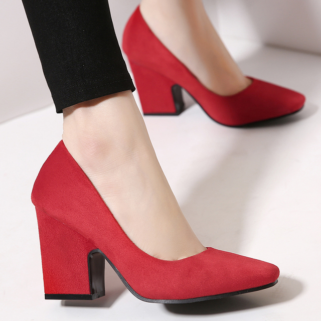 Aliexpress.com : Buy High heels Oxford shoes for women 8.5 CM Med