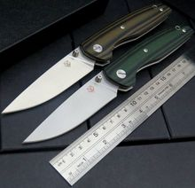 Great New EDC Tools F33 Bearing folding knife D2 blade G10 handle outdoors camping hunting pocket fruit knives
