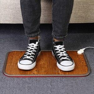 Image 5 - Электрическая грелка для ног, тепловая грелка для ног, коврик для пола, коврик для дома, офиса, теплые ножки, домашние теплые инструменты