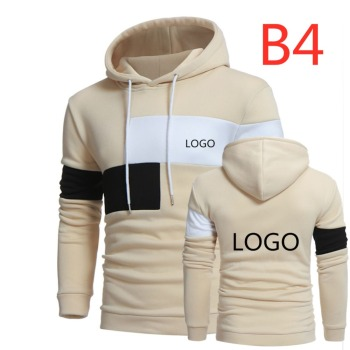 B4 2019 Custom Print LOGO HoodieS for Men Pullover Men's Hooded Sweatshirt Jacket Custom Harajuku Large Size Direct Delivery Top