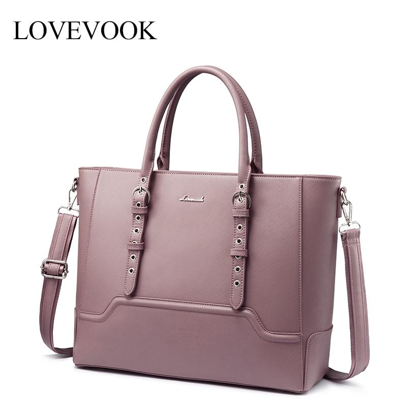 LOVEVOOK Women Handbag Laptop-Bag Messenger-Bags Office Large-Capacity Female Ladies