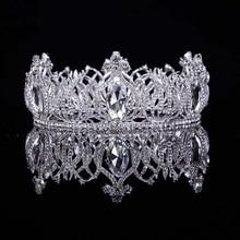 Hot European Designs Vintage Peacock Crystal Tiara Wedding Crown Bridal Tiara Accessories Rhinestone Tiaras Crowns Pageant T-036