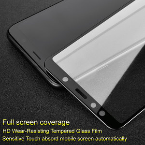Image 5 - Full Cover Protective Glass for Samsung Galaxy A7 2018 A750F Safety Glass 9H Tempered Glass for Samsung A7 2018 Screen Protector