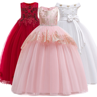8e043f0464 5-14Y Teenager Girls Dresse For Birthday Party s Kids Party Ball Gown  Princess Bridesmaid Children Tutu Dress Christmas Clothes