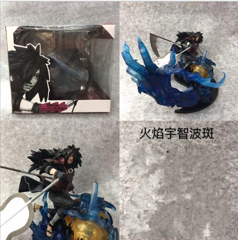 Animé Naruto Shippuden Uchiha Madara Senju Hashirama Susanoo Kizuna Relation PVC figurine à collectionner modèle enfants jouets poupée
