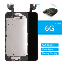 Display For IPhone 6 LCD Full For Iphone6 Lcd Touch Screen Frame Home Button Front Camera