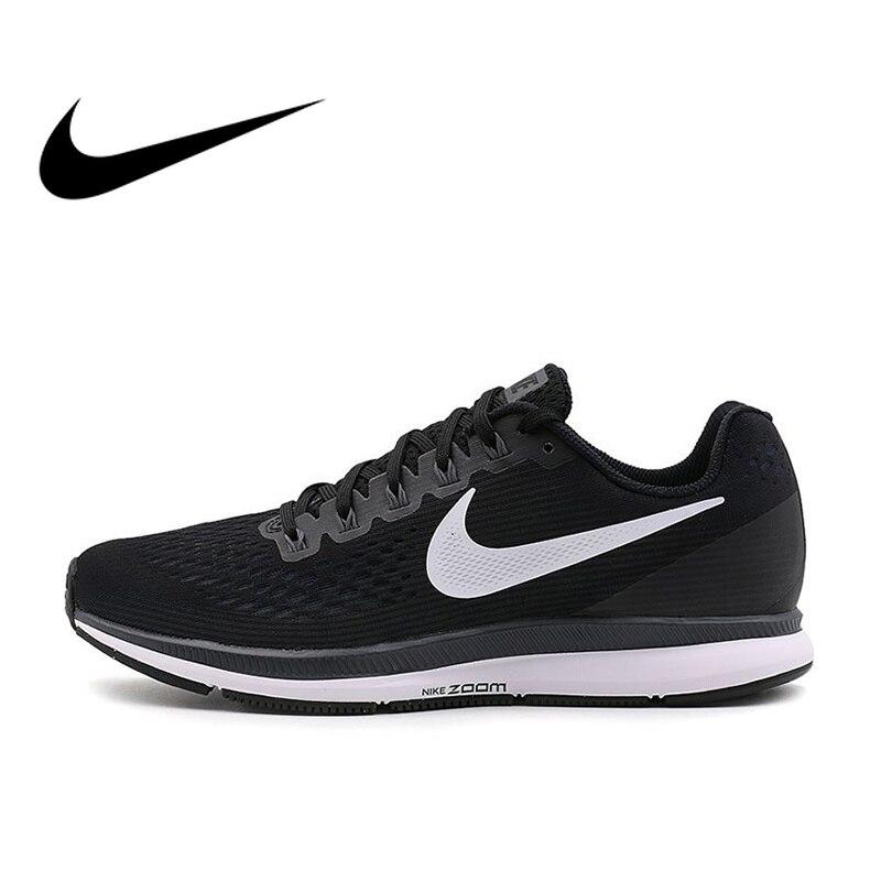 Originale Autentico Nike AIR ZOOM PEGASUS 34 degli uomini Traspirante Runningg Scarpe scarpe Da Tennis di Sport Classico durevole Comodo 880555