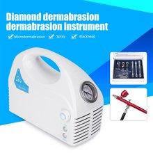 все цены на Diamond Microdermabrasion Dermabrasion Machine Vacuum Spray Skin Exfoliation Removal Wrinkle Facial Peeling Device онлайн