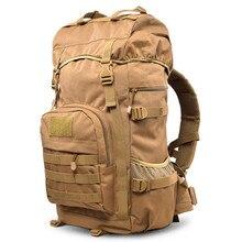 Нейлон износостойкой 55L большая емкость рюкзак случайные туризму камуфляж разнообразие цветов рюкзаки