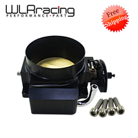 FREE SHIPPING NEW 92MM THROTTLE BODY FOR GM GEN III LS1 LS2 LS6 THROTTLE BODY LS3 LS LS7 SX LS 4 BOLT CABLE WLR6937
