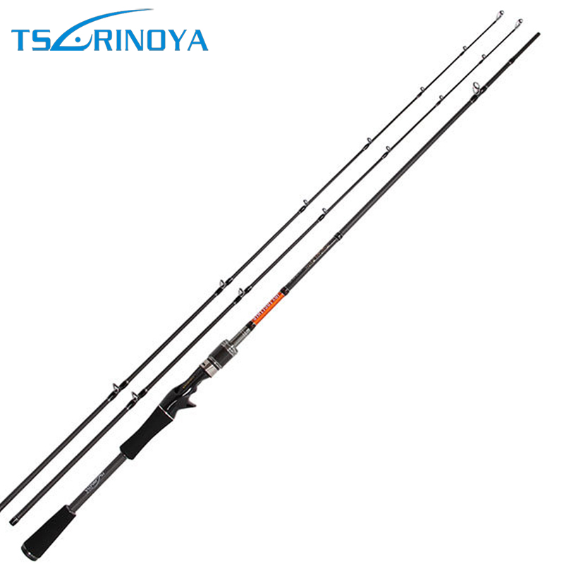 Trulinoya TY 2.1M Fishing Lure Rod M/ML Power Baitcasting Rods Ultra Light Carbon Fiber Bait Casting Fishing Pole
