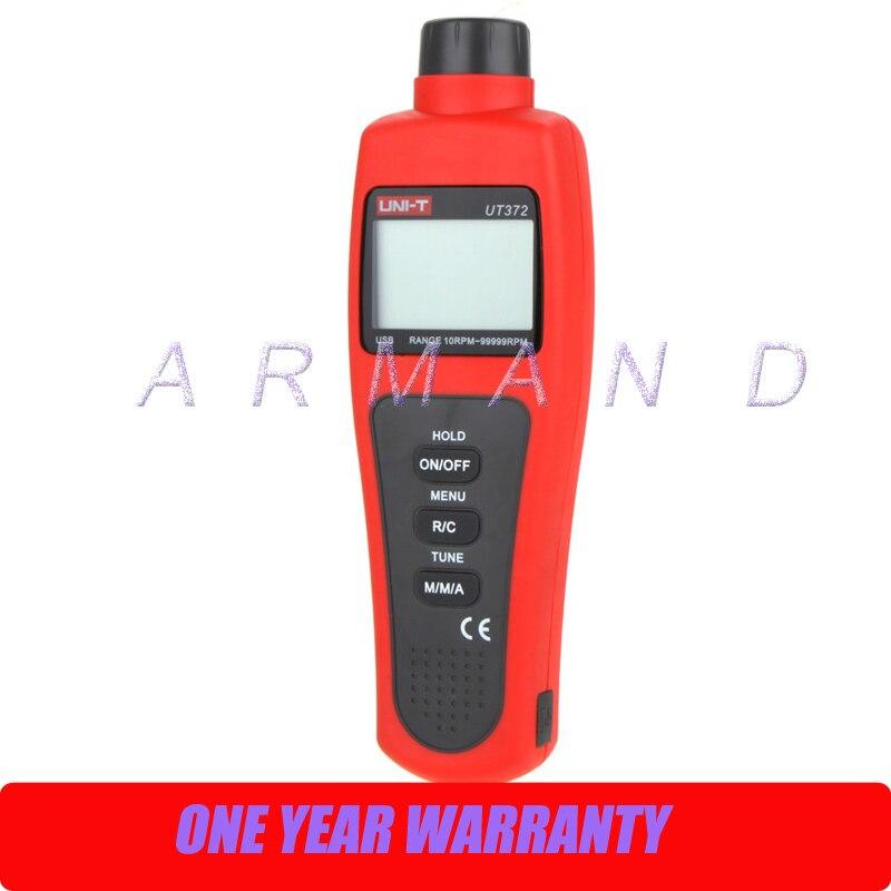 UT372 mesure 10 à 99999 tr/min UNI-T tachymètre numérique sans contact USB