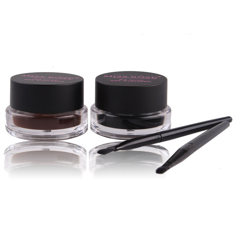 Two-color Eyeliner Cream Waterproof Natural Super Thick Eyes Makeup Cosmetic