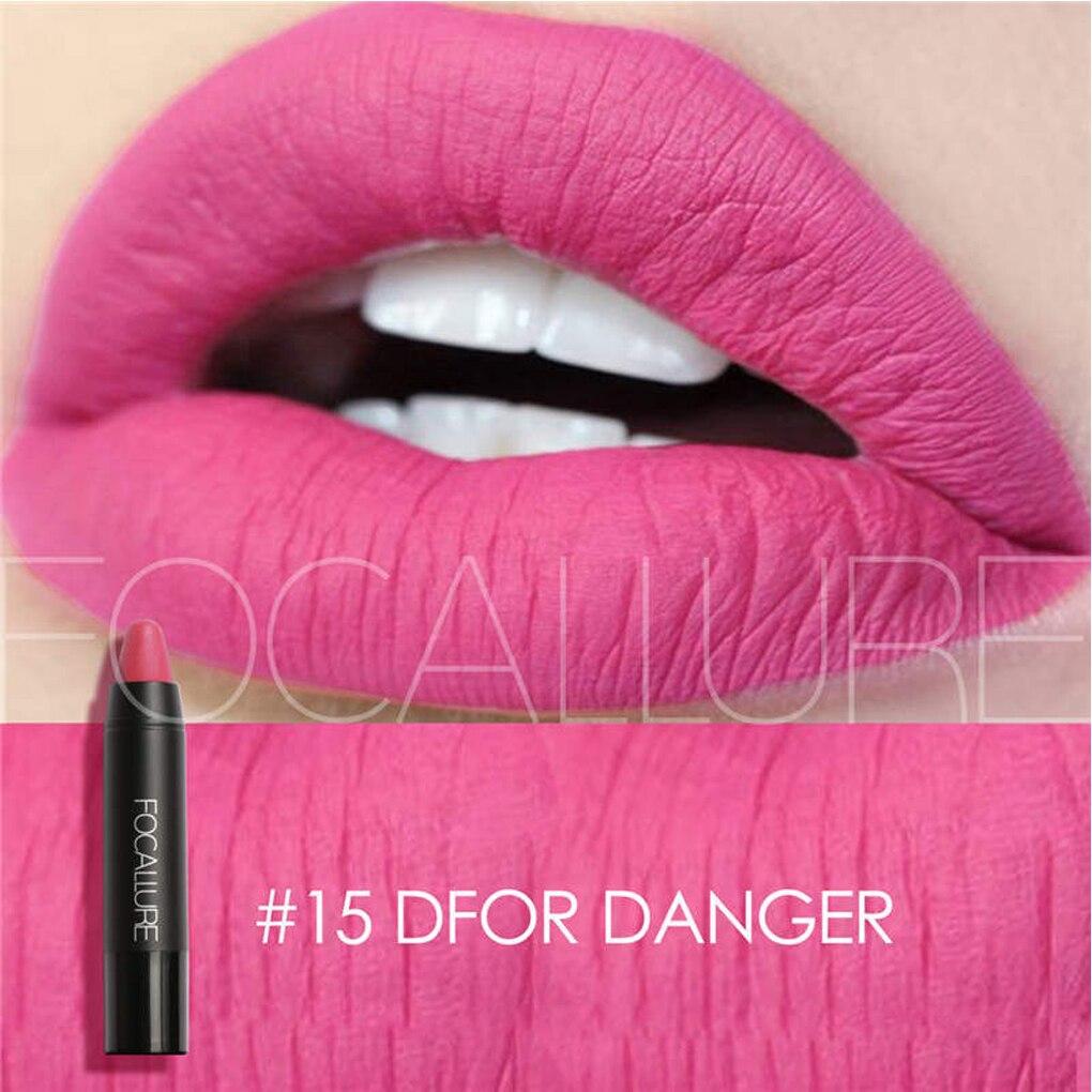 High Quality 1PC Girls Matte Lipsticks Waterproof Matte Lipstick Women